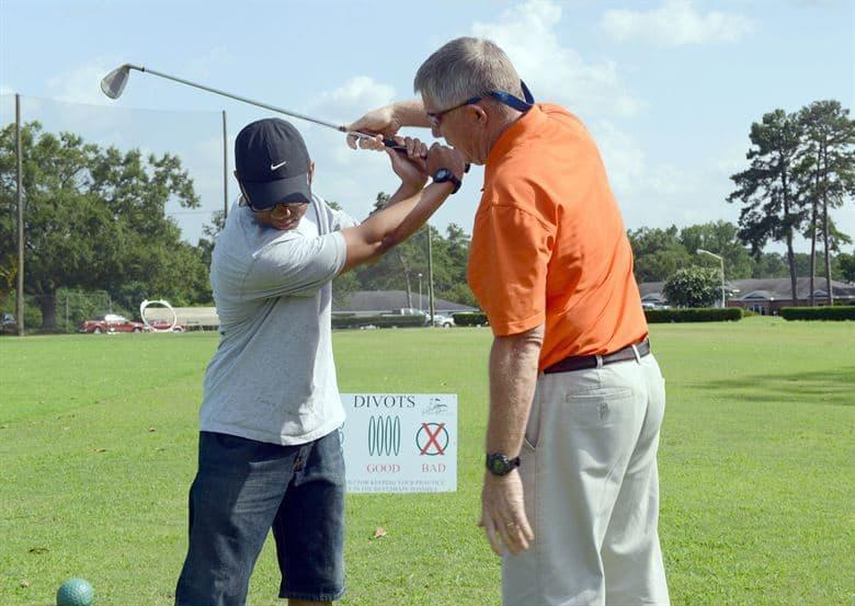 golf tips for beginners training